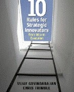 Ten rules for strategic innovators. From Idea to execution